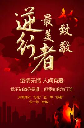 武汉加油致敬最美逆行者预防新型冠状病毒抗击疫情