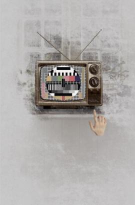 情话大胆说出来 爱的电视机 创意情人节商品促销