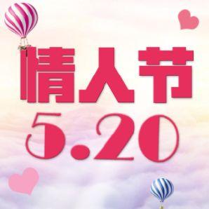 520情人节表白秀恩爱回忆相册