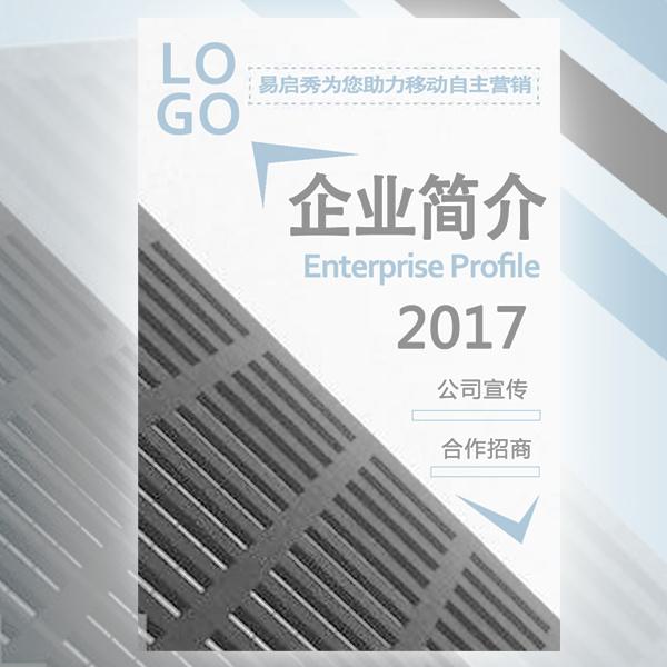 高端大气商务宣传册—企业简介/画册/招商邀请函