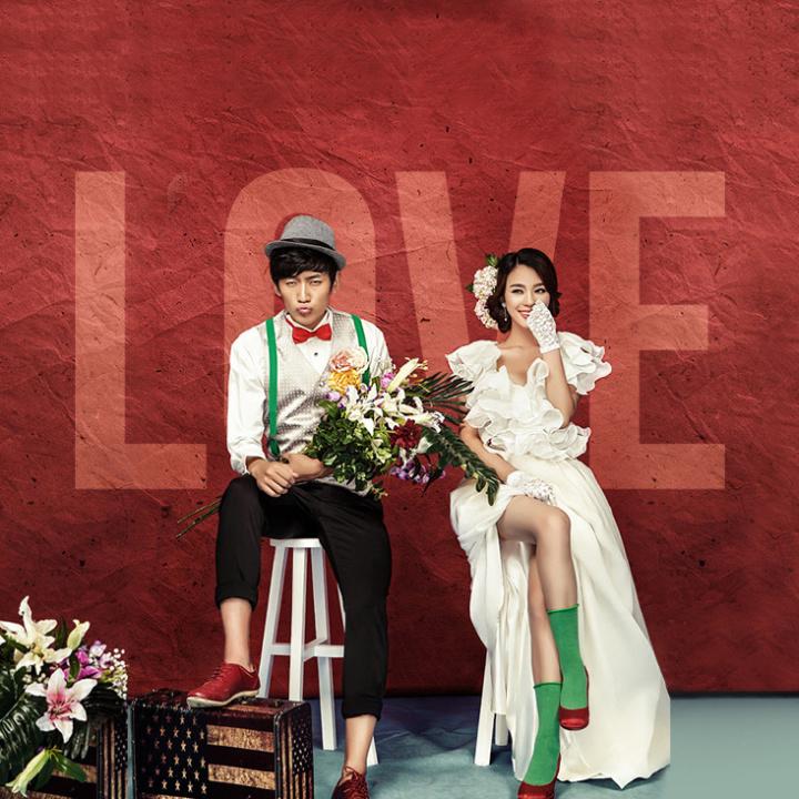 婚纱摄影写真拍摄-微信广告