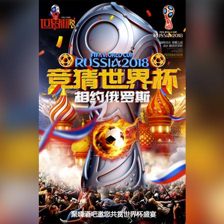 世界杯酒吧足球狂欢圣夜