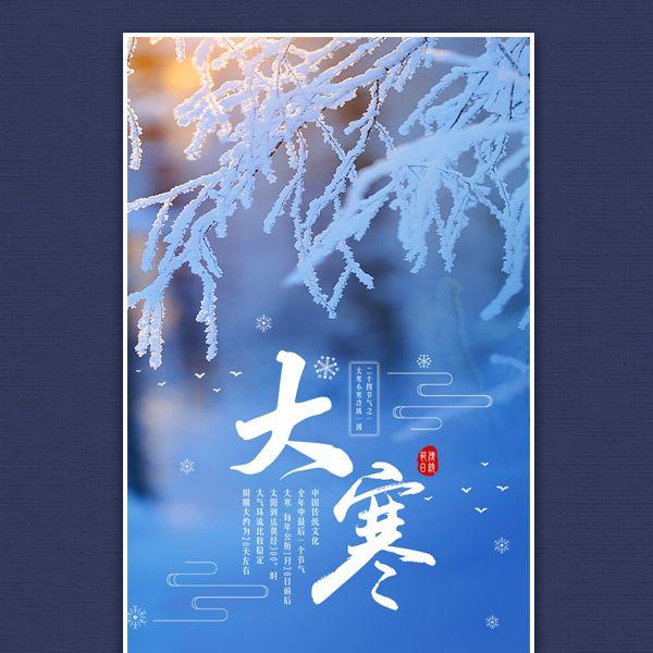 传统二十四节气大寒