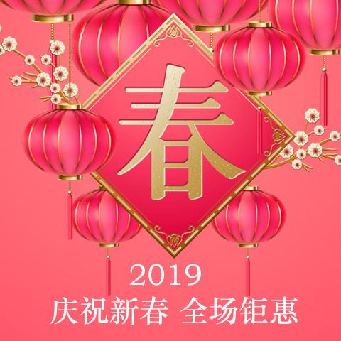 新年春节家电数码美妆饰品促销