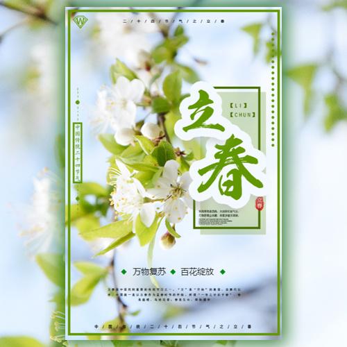 二十四节气之立春节气祝福企业简介