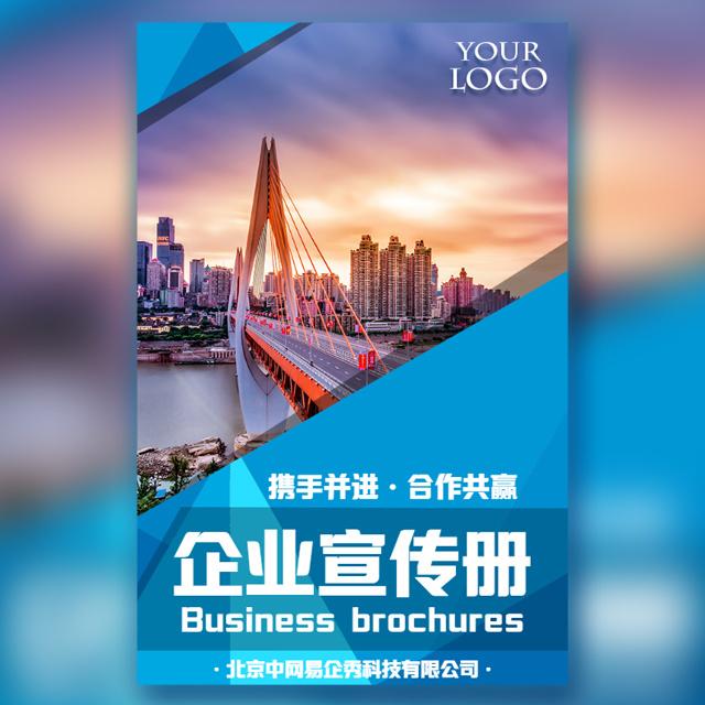 公司简介企业宣传企业文化招商加盟宣传模板