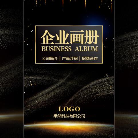 企业宣传公司简介招商合作画册