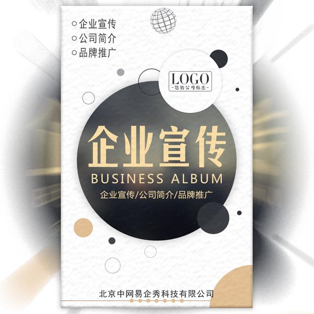 高端简约商务企业宣传画册公司简介产品展示宣传册