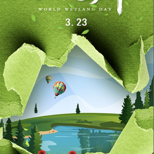 3月23日国际气象节世界气象公益宣传