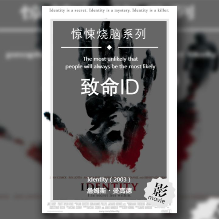 致命ID经典烧脑悬疑惊悚影视介绍
