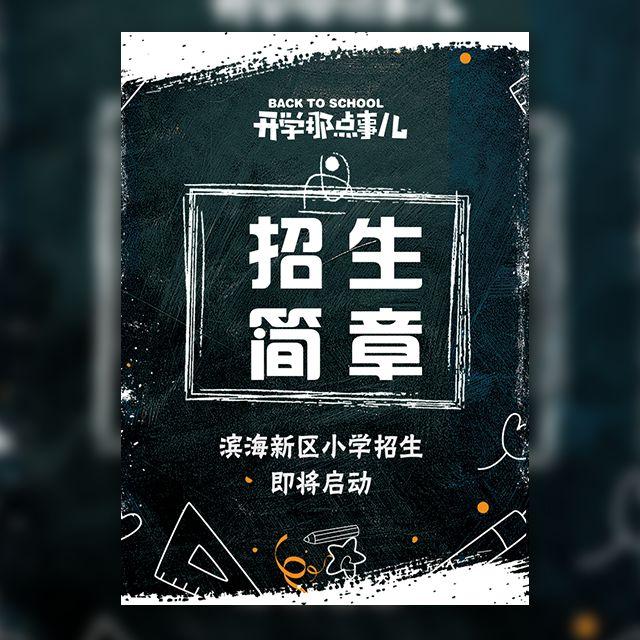 小学幼儿园初高中招生简章招生通知报名