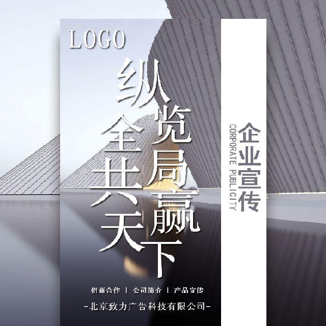 商务风企业宣传公司介绍产品宣传招商加盟
