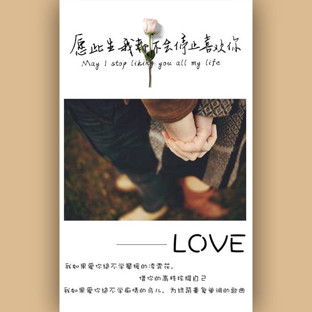 情侣纪念求婚恋爱表白告白音乐相册520情人节