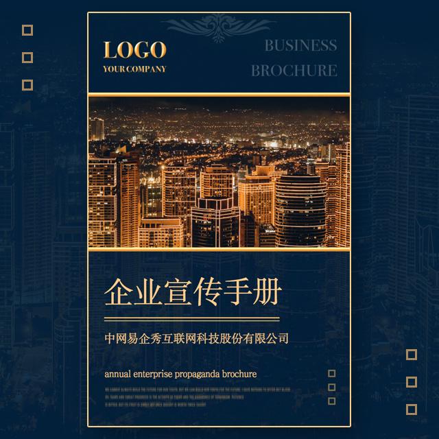 高端商务企业宣传册品牌推广手册