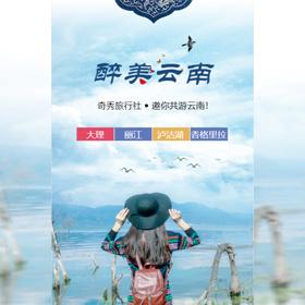 云南旅游景点旅行社宣传推广
